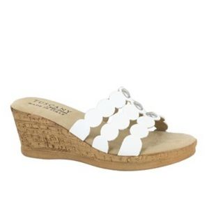 Easy Street Tuscany by Torina Wedge Sandals